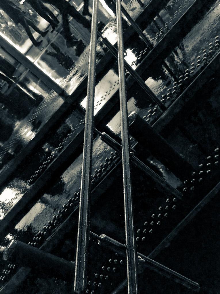 Escalier mouillé