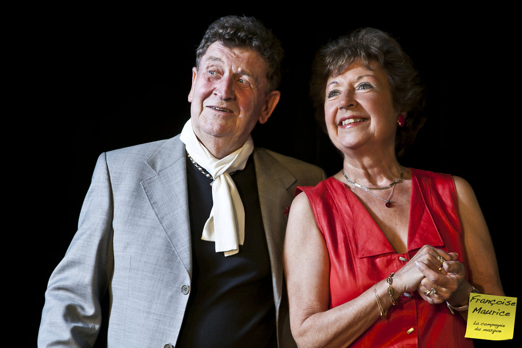 Francoise & Maurice Pigout, theater Espace Icare, Issy-Les-Mouli