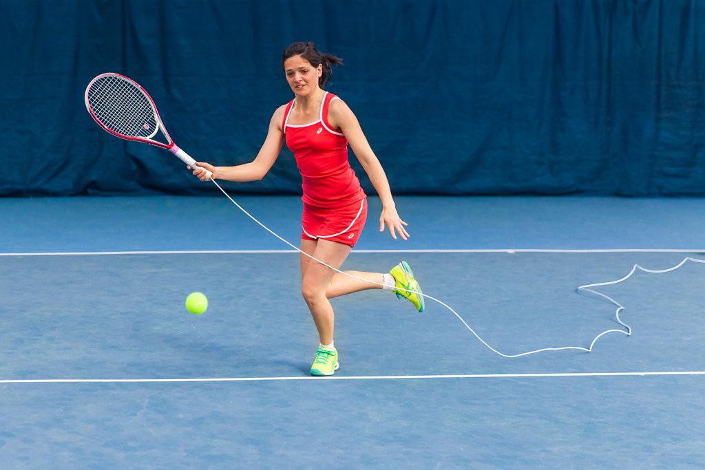 Tennis de câble